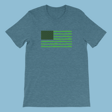 Load image into Gallery viewer, The Lawn Tools Grass Flag Short-Sleeve Unisex T-Shirt