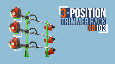 XB103 (V3)-XTREME PRO SERIES THREE POSITION TRIMMER RACK (NEW VERSION 3!) ESTIMATED ARRIVAL 6/11/2020
