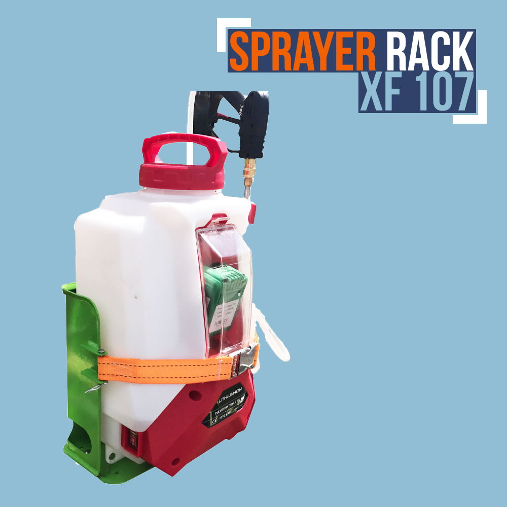 XF107-XTREME PRO SERIES SPRAYER RACK