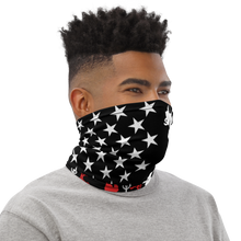 Load image into Gallery viewer, Red and White Lawn Flag Neck Gaiter