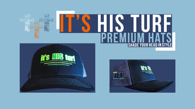IHT X Richardson Snap Back // Black and Gray