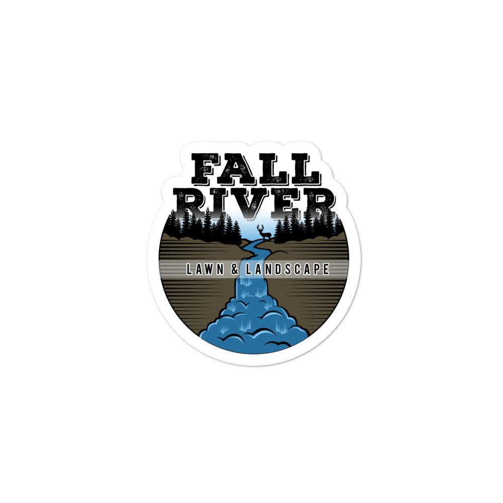 Fall River Logo stickers