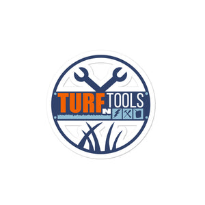 Turf N Tools stickers