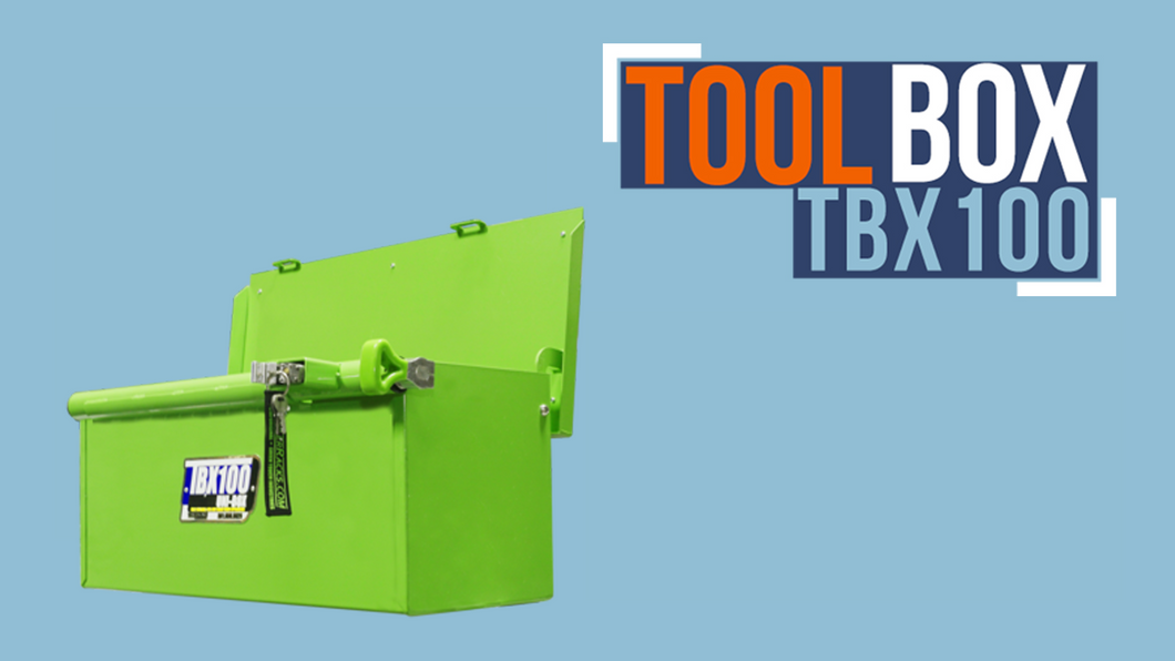 TBX100-UNI-BOX TOOL/STORAGE BOX (FOR OPEN/ENCLOSED TRAILERS)