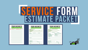 Service Form Estimate Packet