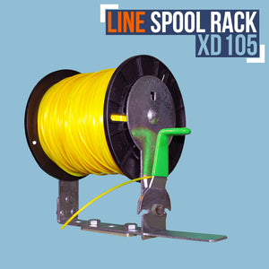 XD105-LINE SPOOL RACK WITH CUTTER