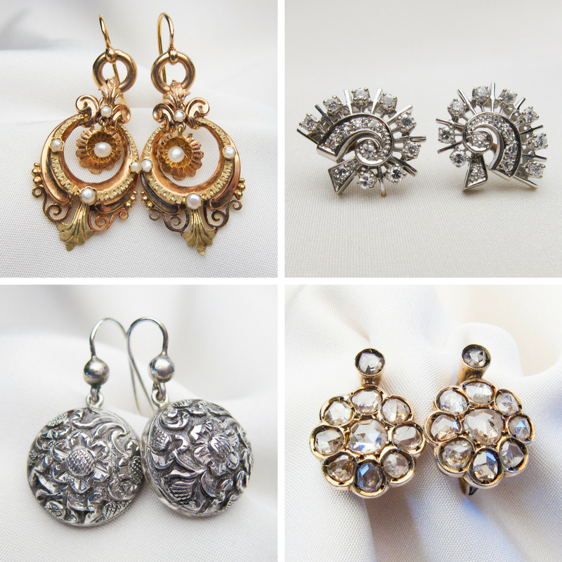 mothers-day-antique-earrings