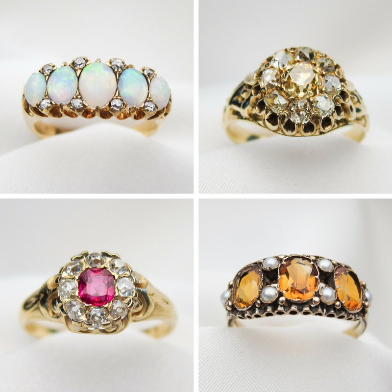mothers-day-antique-rings
