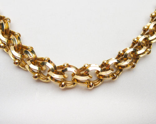 Edwardian 18KT French Necklace