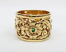 CH1061-BUTTERFLY-WEDDING-BAND-WITH-EMERALDS-2