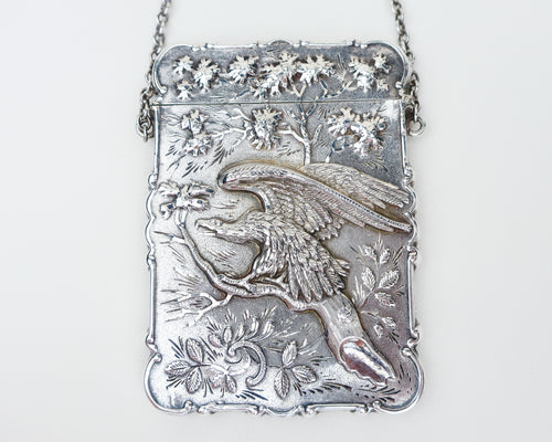 Victorian Engraved Case with Eagle Motif