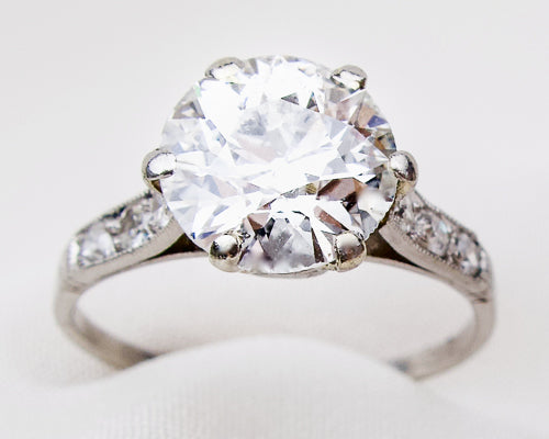 Art Deco 2.47-Carat Diamond Ring