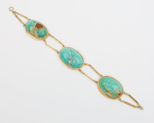 Victorian Persian Turquoise Bracelet