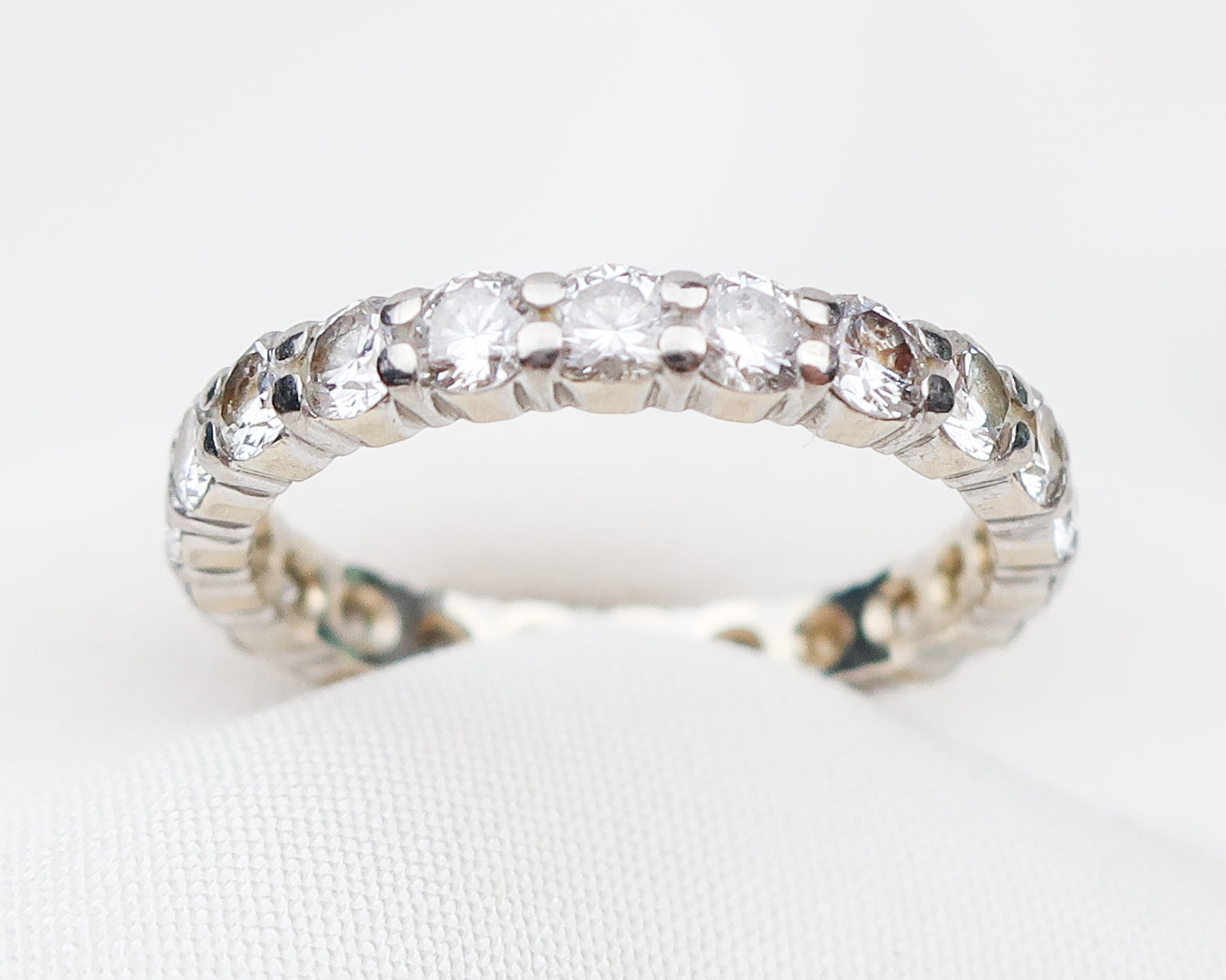 Circa 1970 Diamond Eternity Band