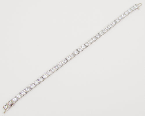 Art Deco Diamond Tennis Bracelet