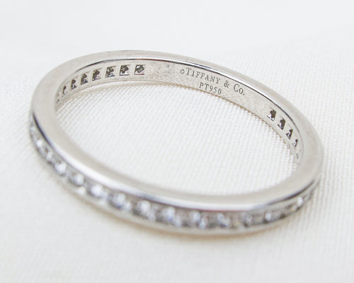 Vintage Tiffany & Co. Diamond Eternity Band