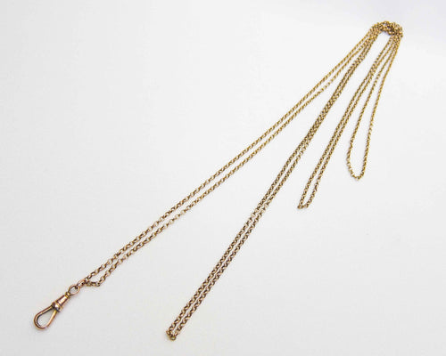 Victorian Long 9KT Gold Chain