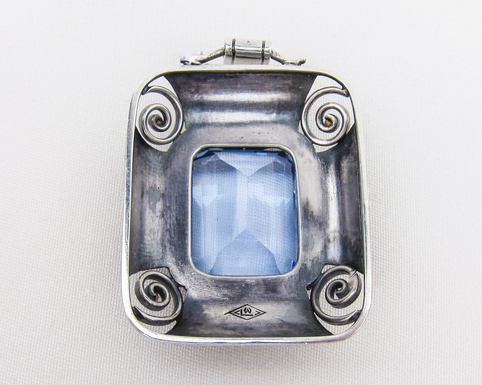 Circa 1910 German Paste Pendant
