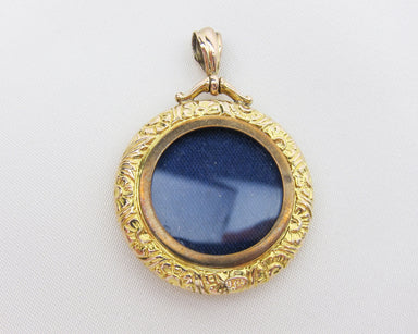 gold-repusse-circular-photograph-frame-pendant-necklace