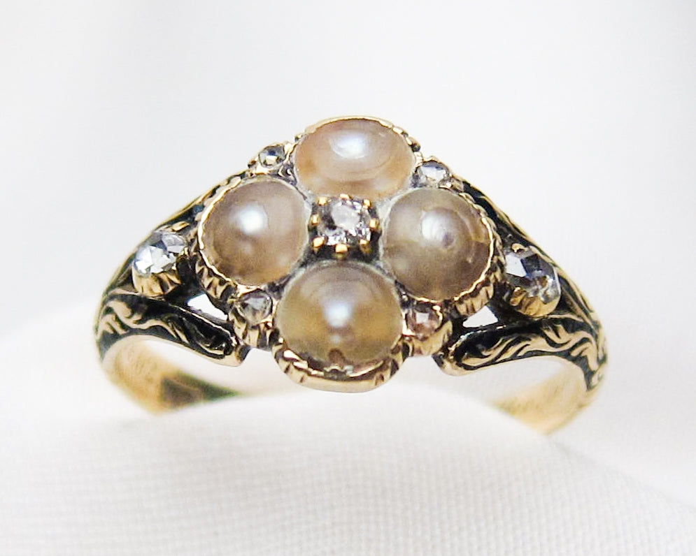 georgian-pearl-diamond-ring