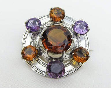 amethyst-citrine-scottish-brooch