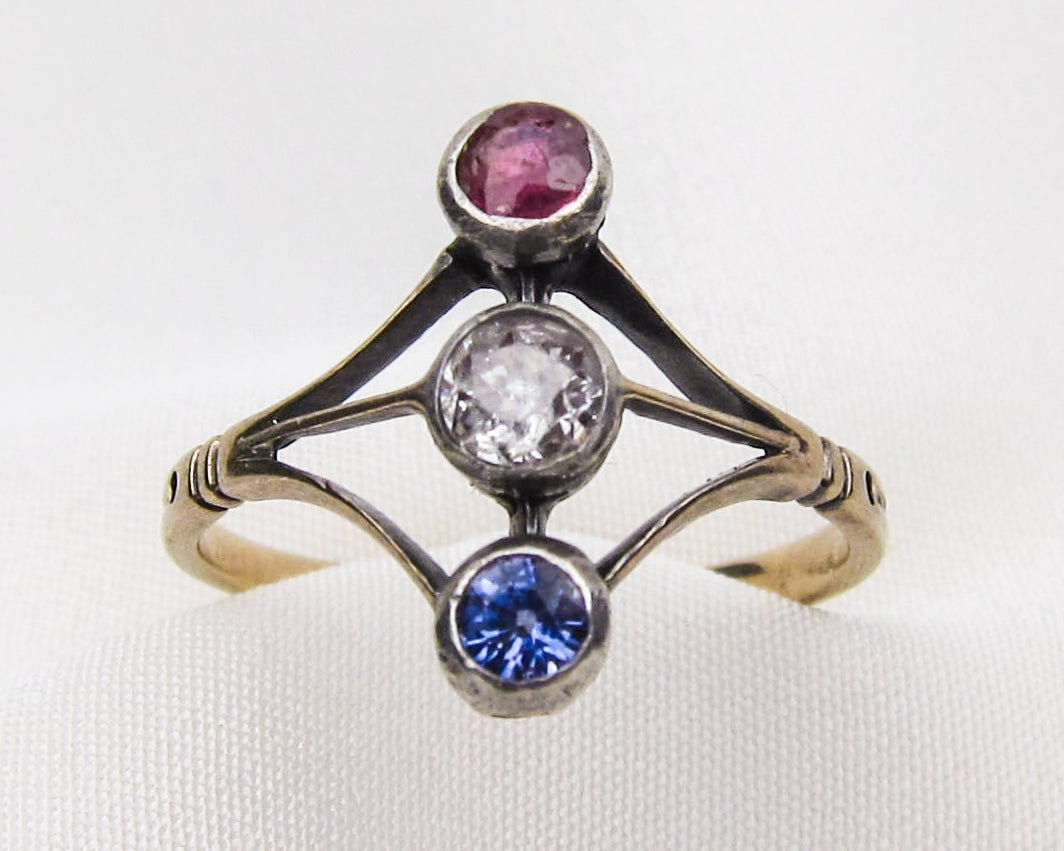 ruby-sapphire-diamond-north-south-ring