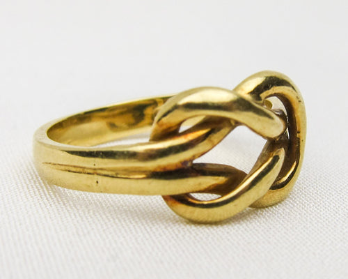 Victorian Lover's Knot Ring