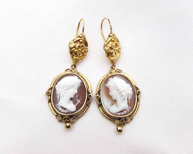 antique-cameo-earrings