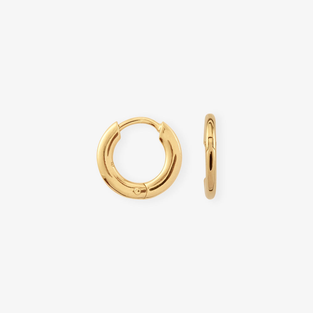 Medium Basic Hoops - Camille Brinch Jewellery