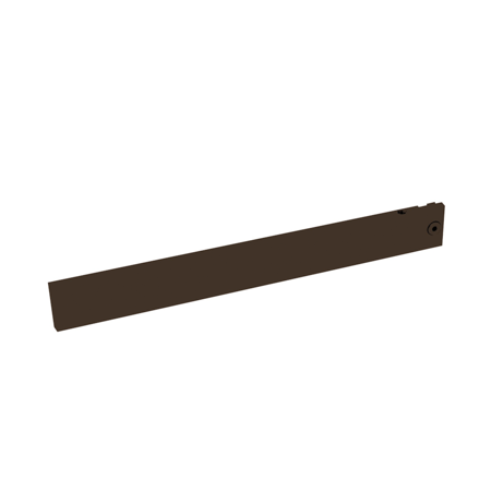 Black Matte Onyx Finish eShelving Arm Brackets - 10""