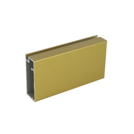 Modern Brass (Metallic) Aluminum Finish Sample