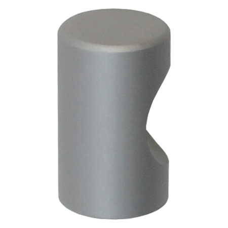 K005 Natural Satin Aluminum Finish Knob