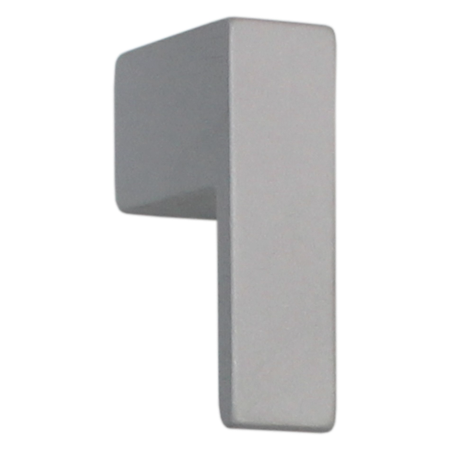 K006 Natural Satin Aluminum Finish Knob