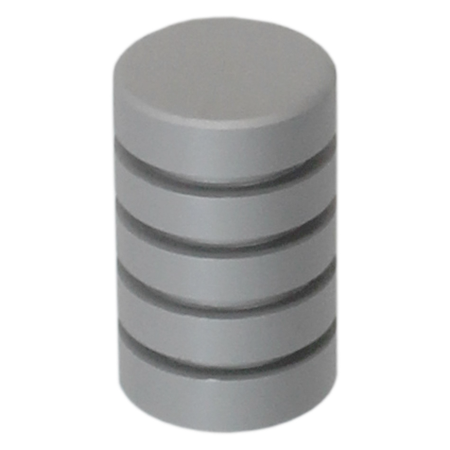 K007 Natural Satin Aluminum Finish Knob