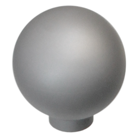 K008 Natural Satin Aluminum Finish Knob