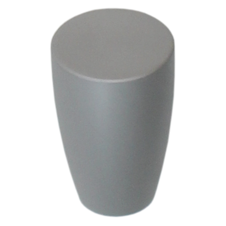 K009 Natural Satin Aluminum Finish Knob