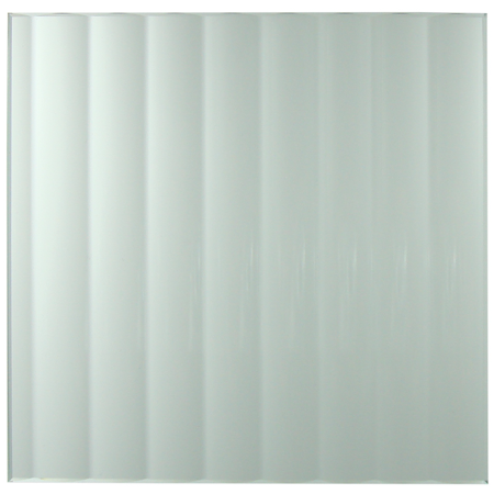 Reeded Glass Standard Glass Insert Sample
