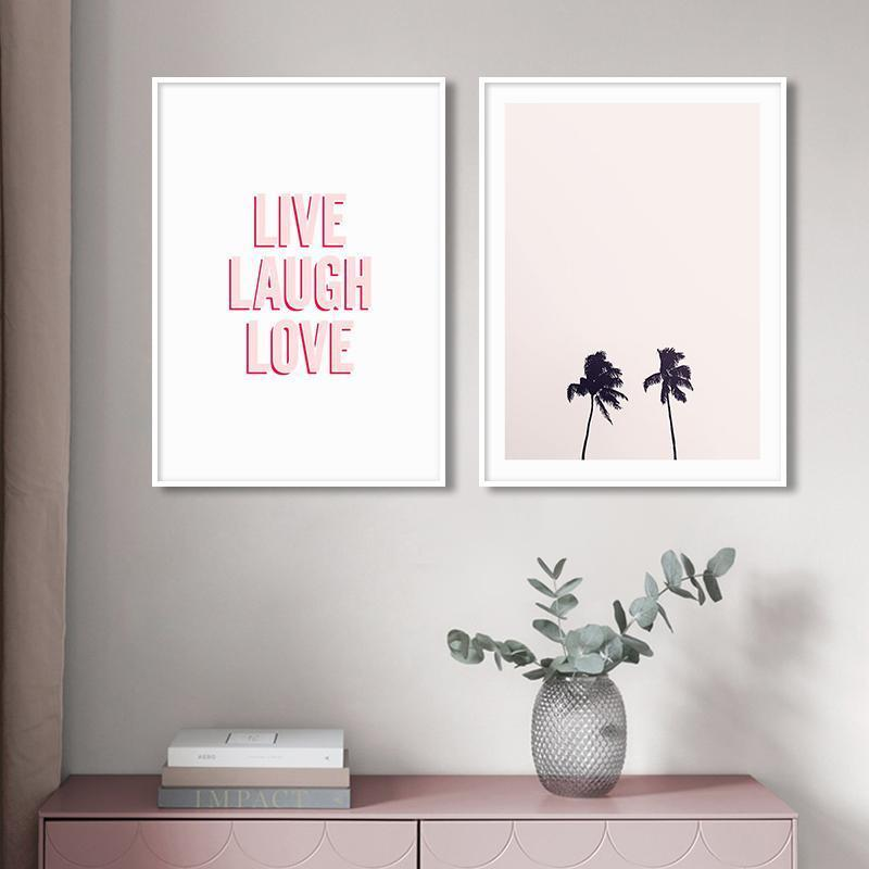 Sweet Vibes Prints - Nordvian Modern Nordic Decor (Painting & Calligraphy - Art + Prints, not-hanger)