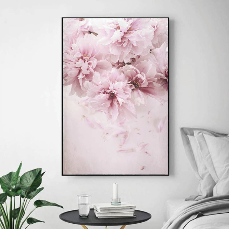Shaded Pink Canvas - Nordvian Modern Nordic Decor (Art - )