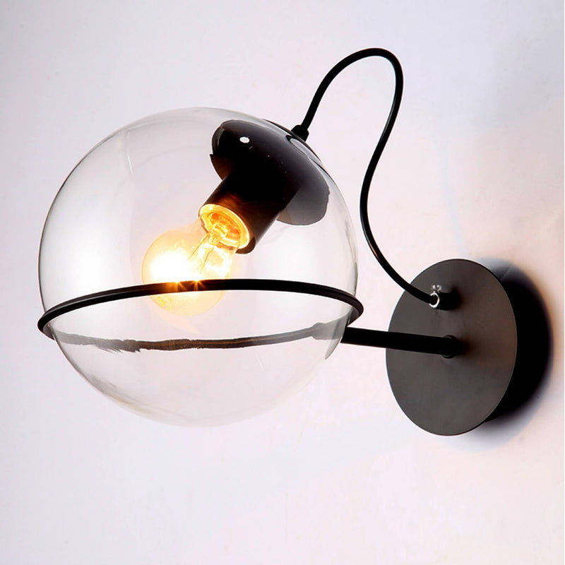Clear Ball Wall Lamp - Nordvian Modern Nordic Decor (light - )