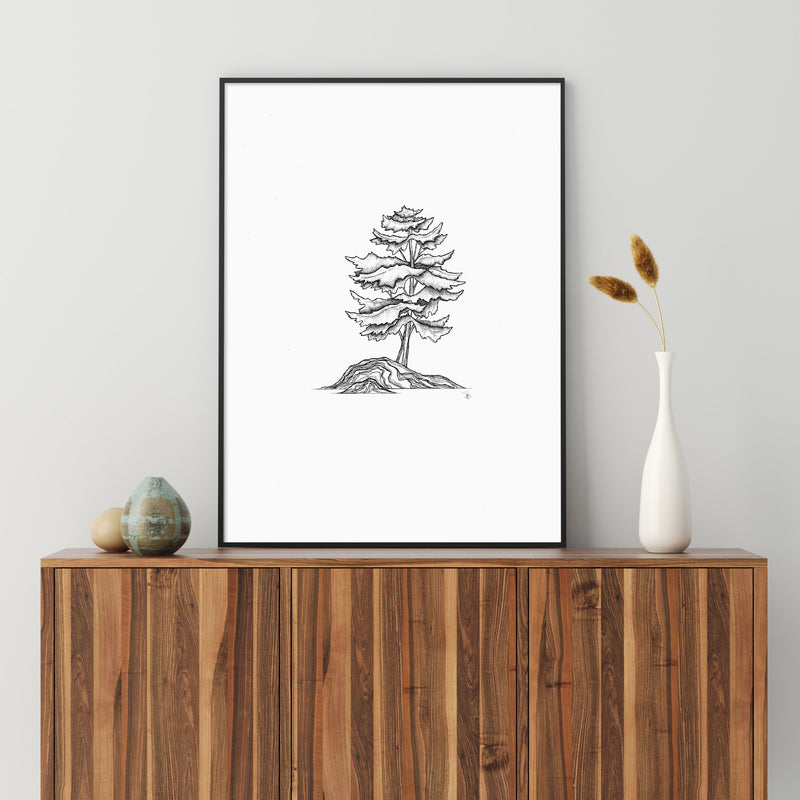 North Wood Series Print Collection - Nordvian Modern Nordic Decor (Painting & Calligraphy - Art + Prints, not-hanger)