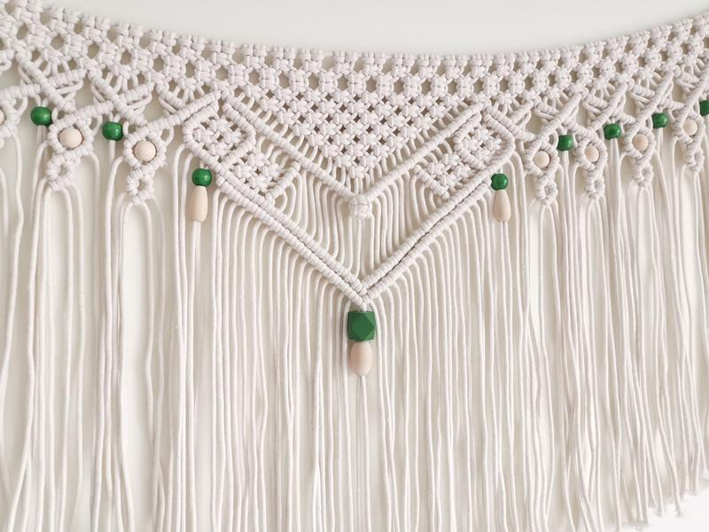 Wall Hanging Macrame Tapestry - Nordvian Modern Nordic Decor (Decorative Tapestries - )