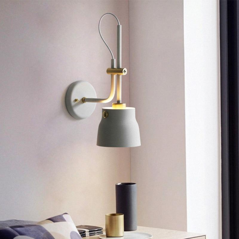 Modern Nordic Bedside Lamp - Nordvian Modern Nordic Decor (LED Indoor Wall Lamps - Lightning)