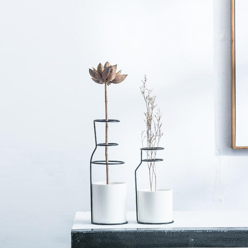 Nordic Decoration Home Art Ceramics Vase - Nordvian Modern Nordic Decor (Vases - Modern Planters)
