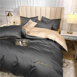 Luxurious Egyptian Duvet Covers - Nordvian Modern Nordic Decor (Bedding Sets - )