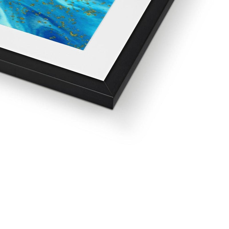 Framed & Mounted Print - Nordvian Modern Nordic Decor (Fine art - )