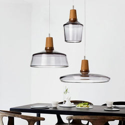 Glass With Wooden Top Light - Nordvian Modern Nordic Decor (light - )
