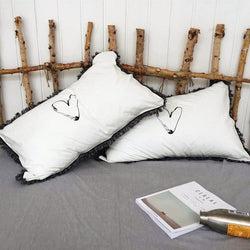 Hearty Tassels Pillow Cases (2 Pieces Set) - Nordvian Modern Nordic Decor (cushion - )