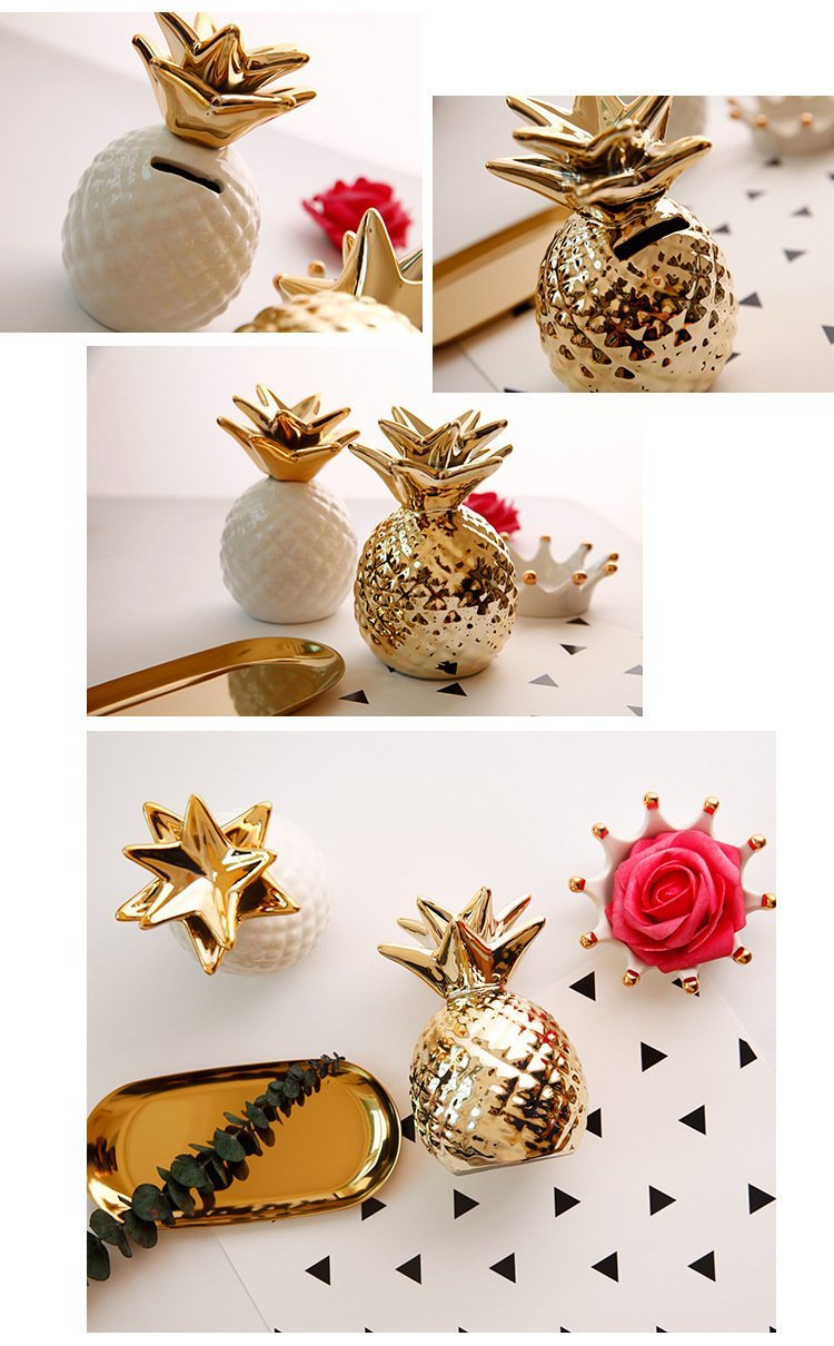 Pineapple For Luck - Nordvian Modern Nordic Decor (accessories - )