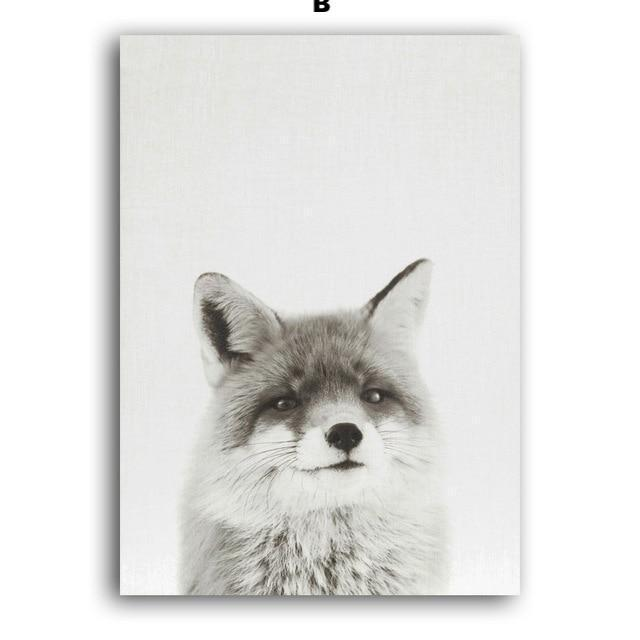 Nordic Fox - Nordvian Modern Nordic Decor (wall art - )